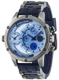 police mens adder multi function watch 14536jsu 04p police 14536jsu 04p