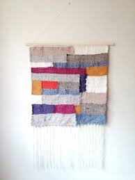 woven tapestry wall hanging large fringe modern by hangings uk