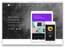 One Page Website Template Gorgeous 48 Best Landing Page WordPress Themes For Apps Products And