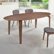 Zuo Virginia Key Dining Table Walnut Advanced Interior Designs - Walnut dining room furniture