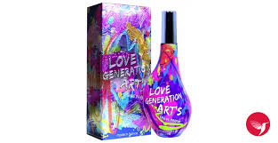 <b>Love Generation</b> Art's <b>Jeanne Arthes</b> perfume - a fragrance for ...