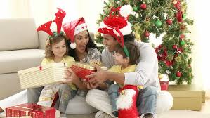Family Opening Christmas Gifts At Stock Footage Video 100 Royalty Free 597421 Shutterstock