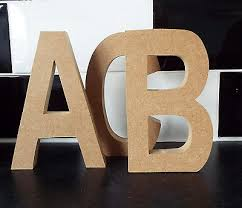 free standing wooden letters large mdf wooden letters numbers ab