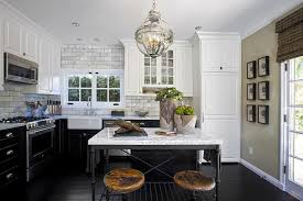 crate and barrel french kitchen island with industrial swivel bar stools
