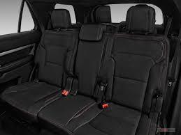 2018 ford explorer rear seat
