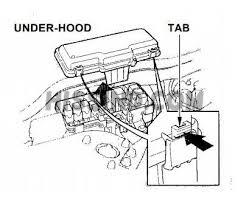 1998 honda accord fuse diagrams 1998 honda accord engine wiring diagram 1999 honda accord fuse box diagram identification and description engine bay