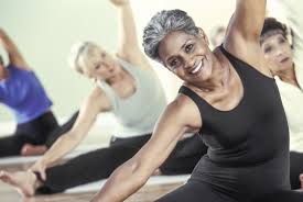 Image result for black woman doing yoga