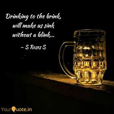 Best Drinking Quotes Status Shayari Poetry Thoughts Yourquote