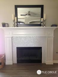 herringbone marble tile fireplace your fireplace surround with mother of pearl tiles home tiled moroccan cement