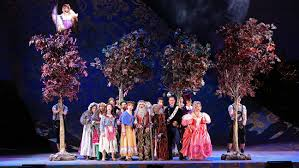 Into The Woods Set Design Broadway Into The Woods Theater Review Hollywood Reporter
