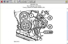 2000 bmw 528 need fan belt routing for 2000 bmw 528i see below