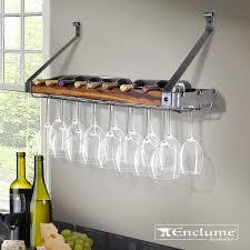 bottle wall mounted wine bottle rack