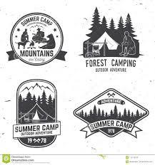 Christian Summer Camp T Shirt Designs Summer Camp Vector Illustration Concept For Shirt Or Logo