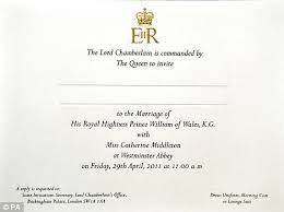 obamas not invited to prince william and kate middleton's royal Not Inviting Sister To Wedding elegant the royal wedding invitation was sent to 1,900 guests not inviting sister to my wedding