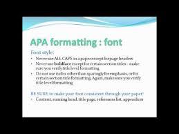 Samples Of Powerpoint Presentations Apa Formatting Powerpoint Presentation Youtube