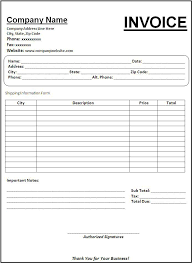 basic invoice template aܠ invoice template