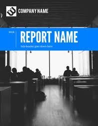 Professional Report Design Annual Report Design Lucidpress