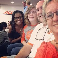 "Coach Audra Smith on Twitter: ""Hanging with one of my favorite families at  the Clemson vs Va. Tech Volleyball match!!! @hartleyplyler @DavisDonut… """