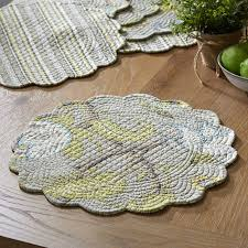 Dartford Round Quilted Placemats & Reviews   Birch Lane & Dartford Round Quilted Placemats Adamdwight.com