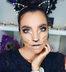 glamorous kitten makeup