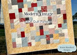 Modern Vintage Quilt Pattern - Layer Cake Friendly | Kristin ... & Modern Vintage Quilt Pattern - Layer Cake Friendly Adamdwight.com