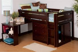 canwood whistler storage loft bed with desk bundle for house