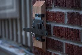 wall mount gate latch designs