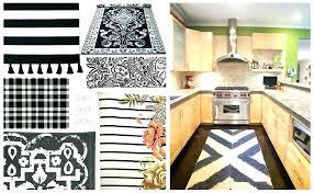 black kitchen rugs black kitchen rugs black and white kitchen rugs or black and white kitchen