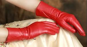 luxury sheepskin gloves female genuine leather gloves medium long winter warm gloves women gloves