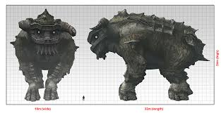 Nomads Blog Colossi Sizes In Game