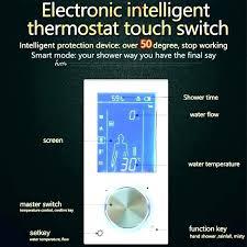 showers electronic shower control delta digital showers decoration valve controller 3 ways electronic shower