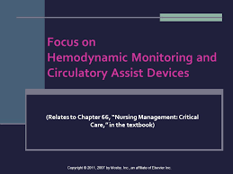 Focus On Hemodynamic Monitoring And Circulatory Assist Devices Ppt