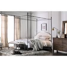 wrought iron king bed. Office Amusing Wrought Iron Bed Frame King 22 Stunning Metal Canopy 12 Furniture Of America Karis