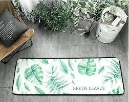 green kitchen mat summer green plants rug kitchen mat anti slip seat pad floor mat sofa green kitchen