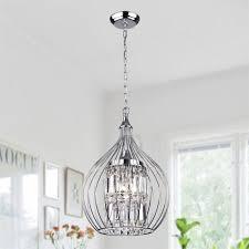 Richwood 3 Light Globe Chandelier Shop Acatia 3 Light Chrome Foyer Pendant Silver Finish