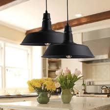 Wrought Iron Pendant Lights Kitchen Baycheer Hl371749 Industrial Retro Style Wrought Iron Large