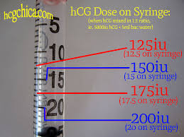 Iu To Cc Conversion Chart How I Find My Dose Of Hcg On An Injection Syringe
