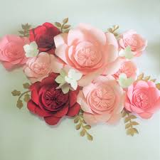 Made Flower With Paper 2019 2018 Diy Half Made Giant Paper Flowers Hydrangea Flowers Leaves For Wedding Event Backdrop Video Tutorials From Fivestarshop 69 84