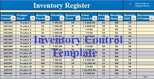 inventory control spreadsheet template download free inventory control template in ms excel excel data