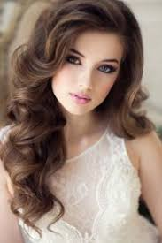 elegant hair and makeup styles for wedding
