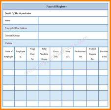 Payroll Sheet Samples 009 Template Ideas Payroll Ledger Register Form Striking