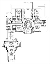 colonial house plan with 6 bedrooms and 6 5 baths plan 8078 Mountain House Plans Cost To Build 2nd floor plan 4 Bedroom House Plans