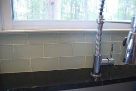diy subway glass tile backsplash