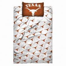 texas longhorns official ncaa twin sheet set