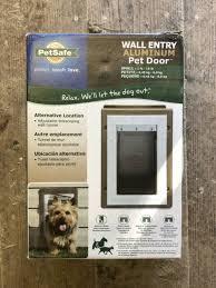 petsafe aluminium wall entry pet doors
