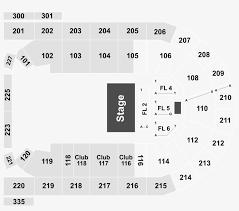Mohegan Arena Seating Chart Legend Mohegan Sun Arena Seating Chart Png Image