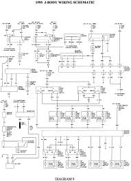 repair guides wiring diagrams wiring diagrams com 9 1995 j body wiring schematic