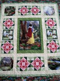 Snow White quilt using Thomas Kinkade fabrics. | Quilts ... & Snow White quilt using Thomas Kinkade fabrics. Adamdwight.com