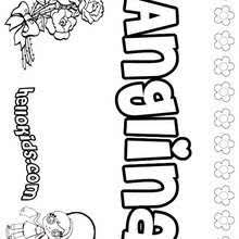 Small Picture A names for girls coloring sheets 0 printables to create your
