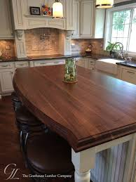 custom walnut wood kitchen island top in columbia maryland traditional kitchen countertops philadelphia by grothouse wood countertops